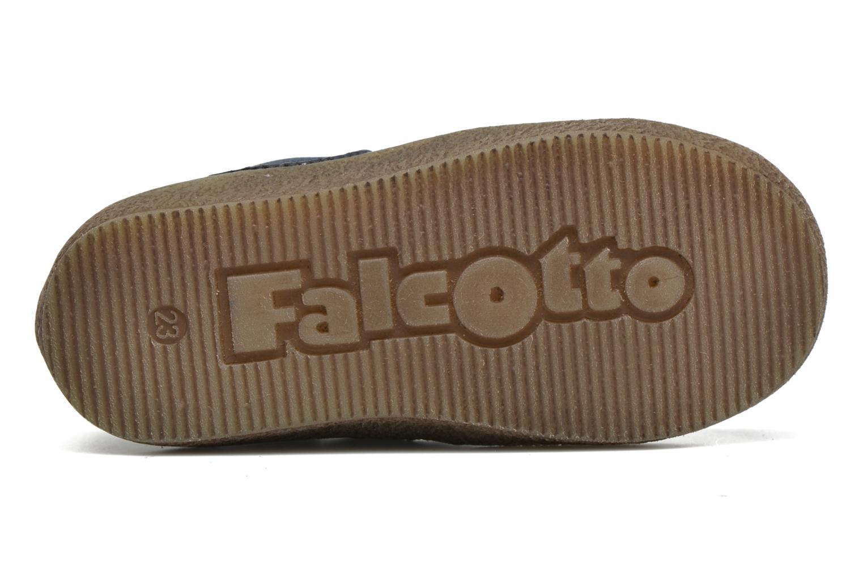Bottines et boots Naturino Falcotto 4178 Bleu vue haut