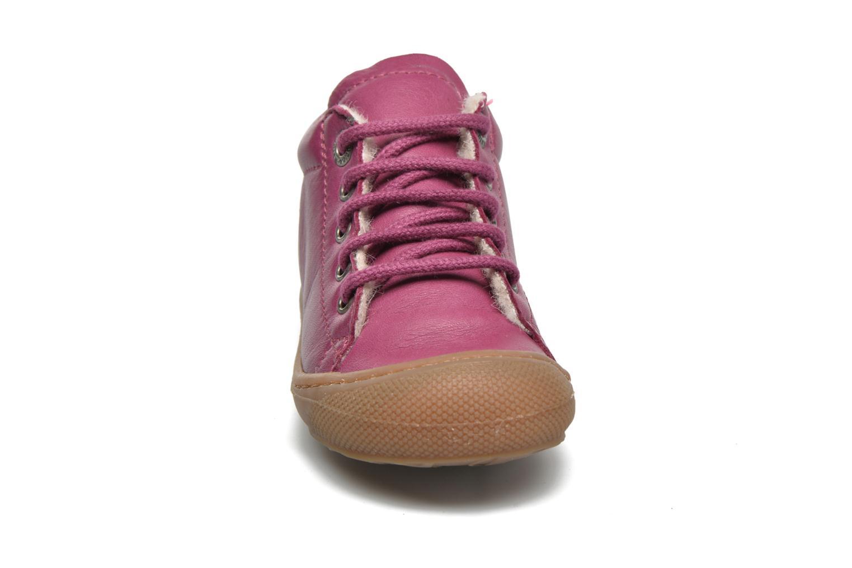 Zapatos con cordones Naturino Cocoon Warm Violeta      vista del modelo