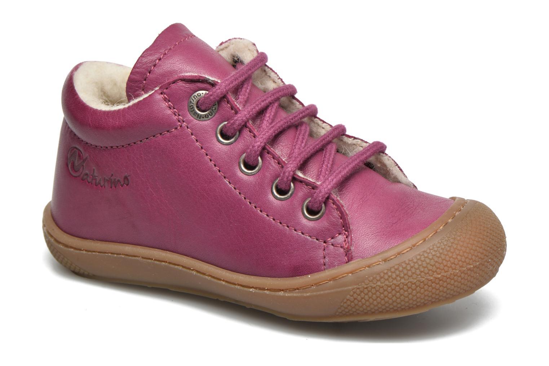 Zapatos con cordones Naturino Cocoon Warm Violeta      vista de detalle / par