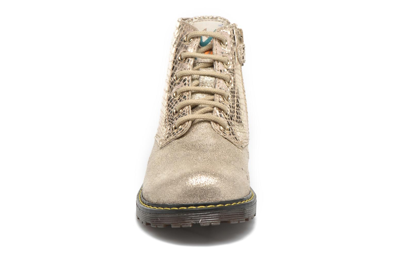 Bottines et boots Naturino Naturino 3745 Or et bronze vue portées chaussures