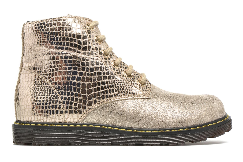 Bottines et boots Naturino Naturino 3745 Or et bronze vue derrière