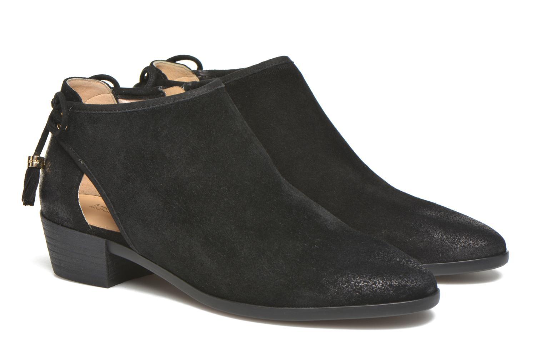 Ankle boots Michael Michael Kors Jennings Flat Bootie Black 3/4 view