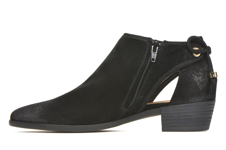 Ankle boots Michael Michael Kors Jennings Flat Bootie Black front view