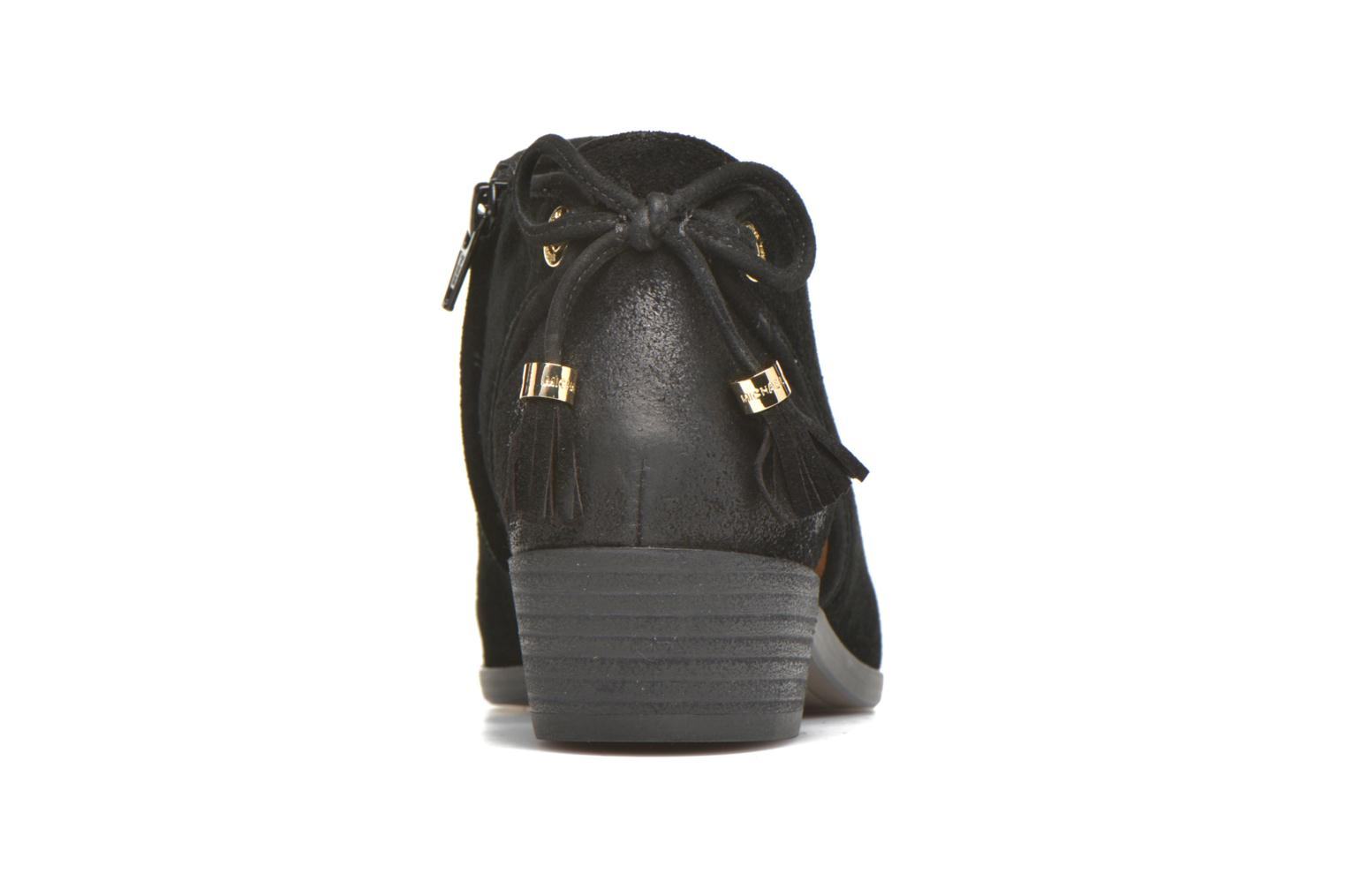Ankle boots Michael Michael Kors Jennings Flat Bootie Black view from the right
