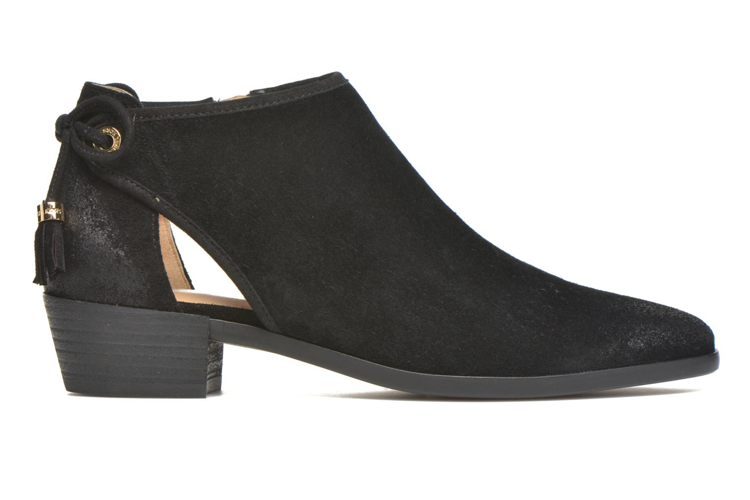 Ankle boots Michael Michael Kors Jennings Flat Bootie Black back view