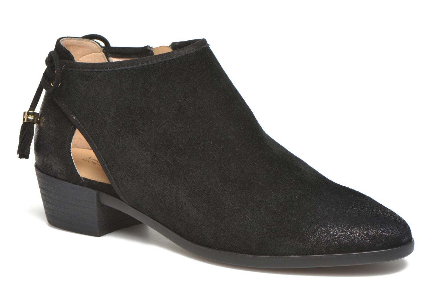 Ankle boots Michael Michael Kors Jennings Flat Bootie Black detailed view/ Pair view
