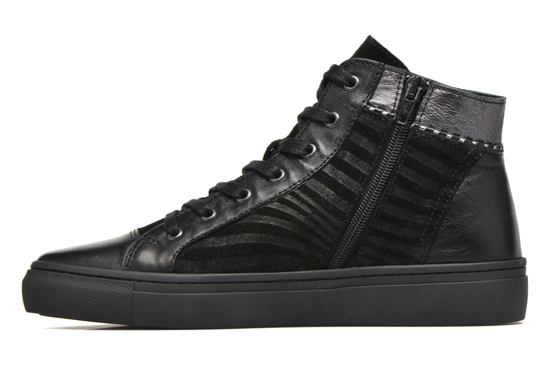 Sneaker Pataugas Yoko/O schwarz ansicht von vorne