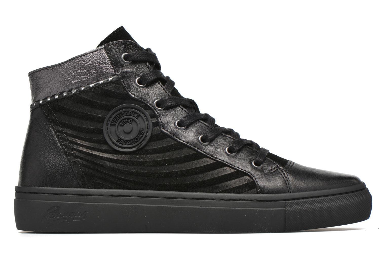 Sneaker Pataugas Yoko/O schwarz ansicht von hinten