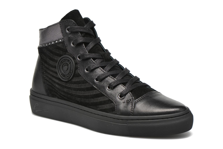 Sneaker Pataugas Yoko/O schwarz detaillierte ansicht/modell