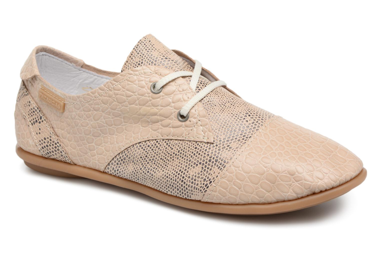 Zapatos promocionales Pataugas Swing/S (Beige) - Zapatos con cordones   Casual salvaje