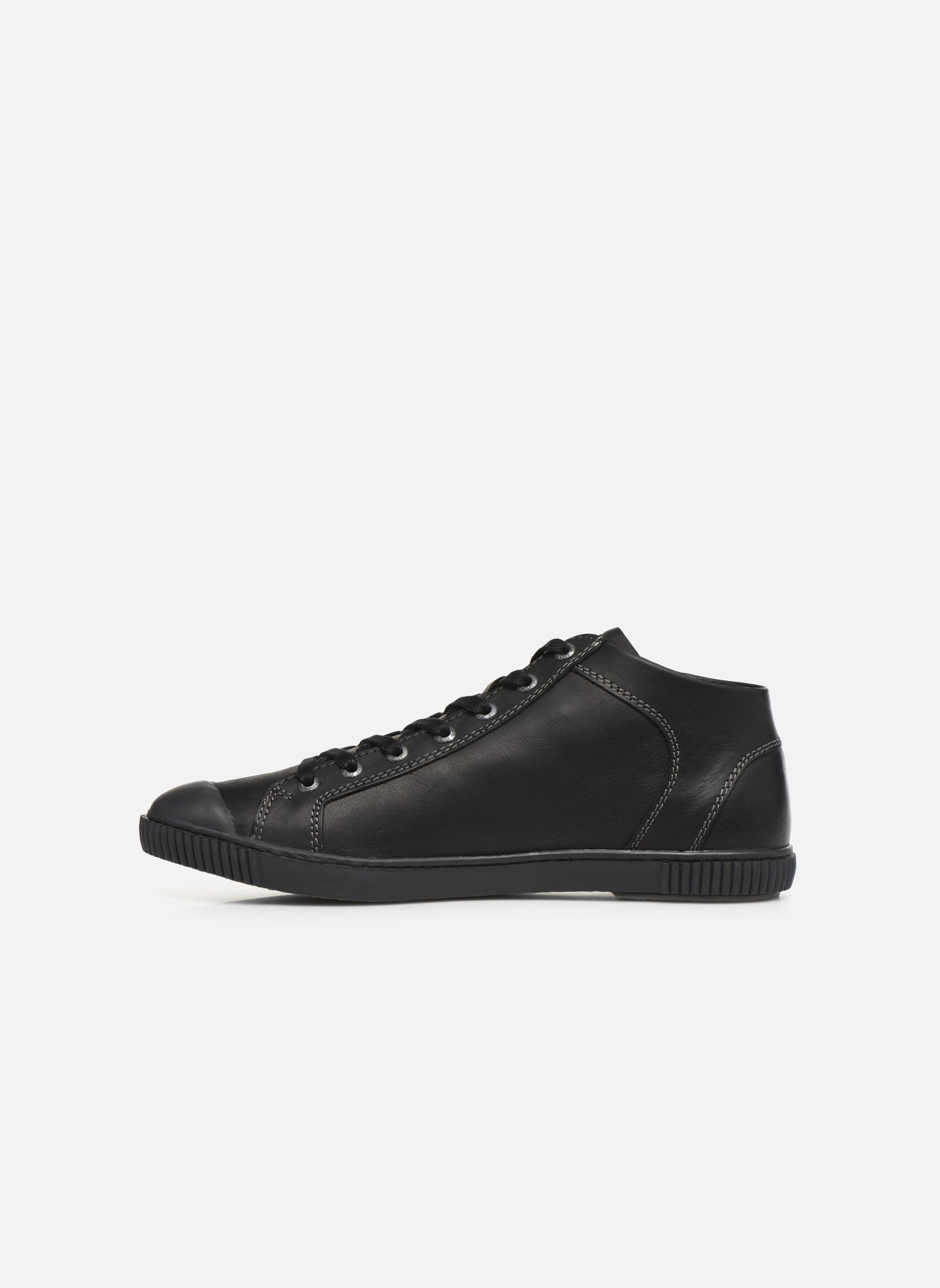 Trainers Pataugas Bumper/N Black front view