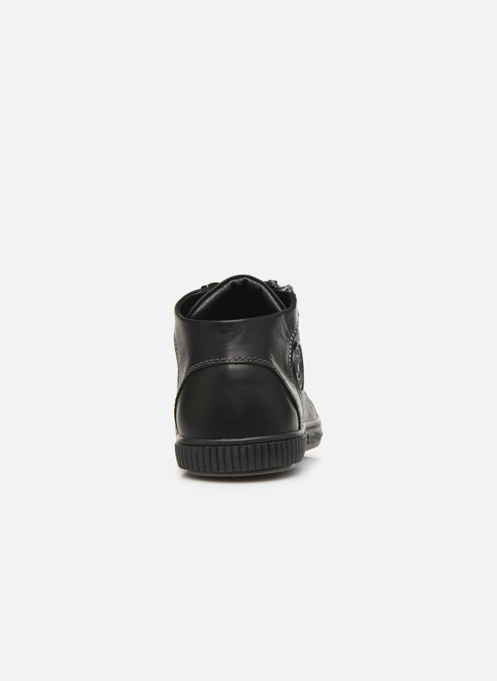 Trainers Pataugas Bumper/N Black view from the right