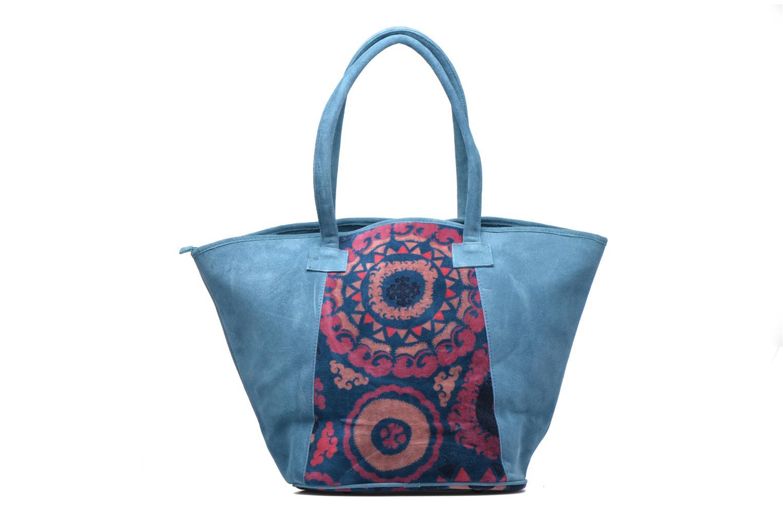 Handtaschen La Fiancée Du Mékong Calista blau ansicht von vorne