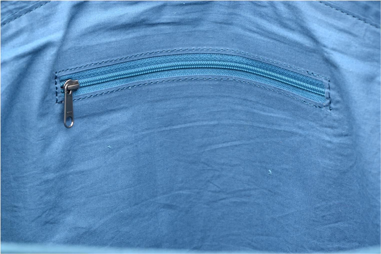 Handtaschen La Fiancée Du Mékong Calista blau ansicht von hinten
