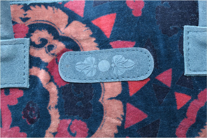 Handtaschen La Fiancée Du Mékong Calista blau ansicht von links