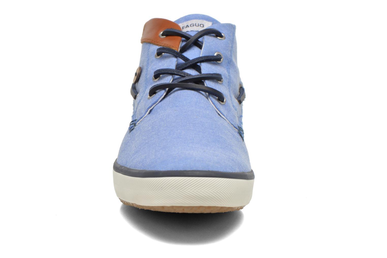 Baskets Faguo Wattleboat Bleu vue portées chaussures