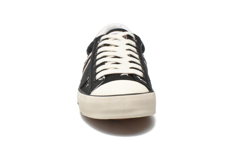 Baskets Pepe jeans Serthi birds Noir vue portées chaussures