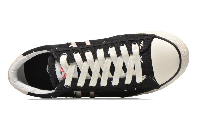 Sneaker Pepe jeans Serthi birds schwarz ansicht von links