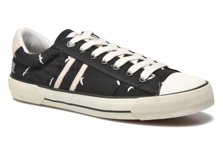 Sneaker Pepe jeans Serthi birds schwarz detaillierte ansicht/modell