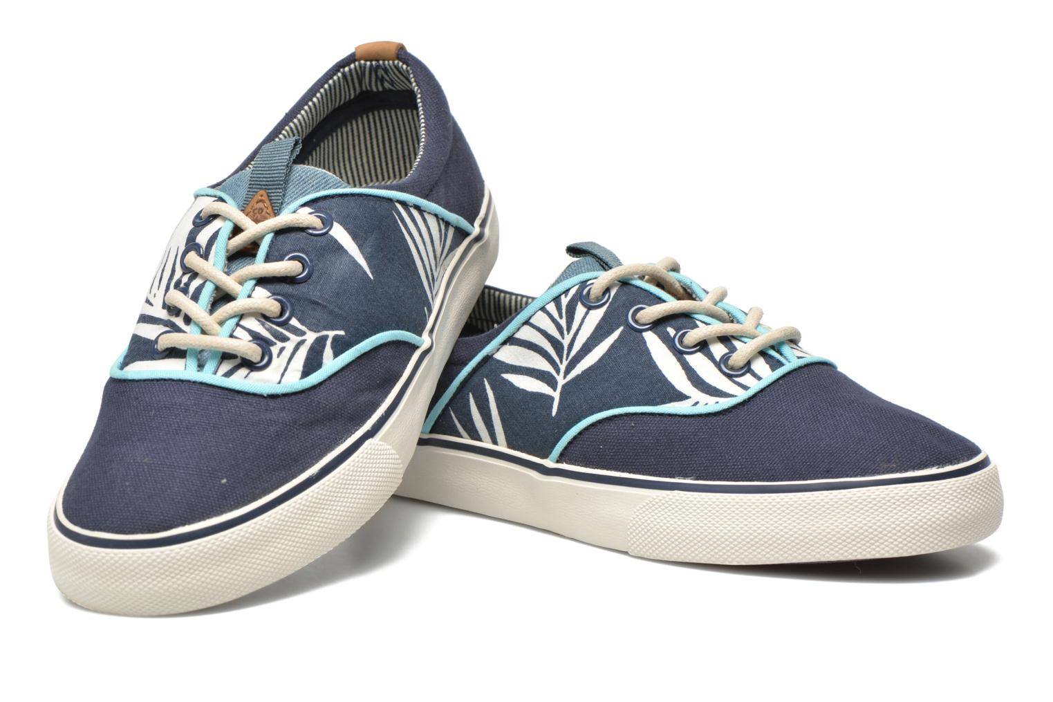 Trainers Pepe jeans Traveler skate Blue 3/4 view