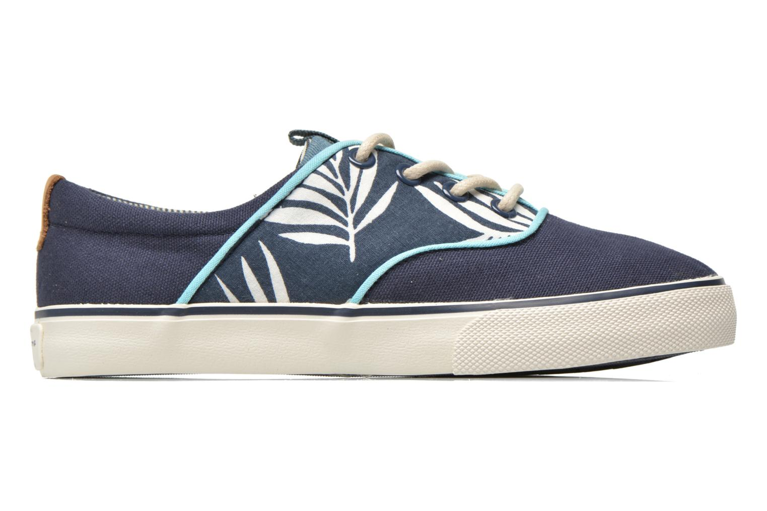 Trainers Pepe jeans Traveler skate Blue back view