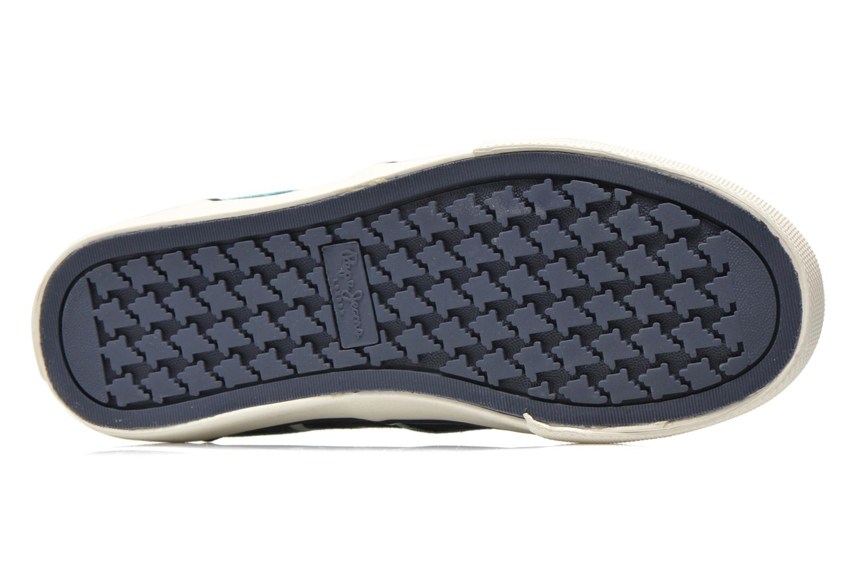 Sneaker Pepe jeans Traveler skate blau ansicht von oben