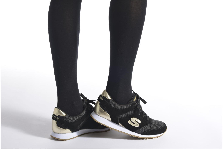 Sneaker Skechers OG 78 - Gold Fever beige ansicht von unten / tasche getragen