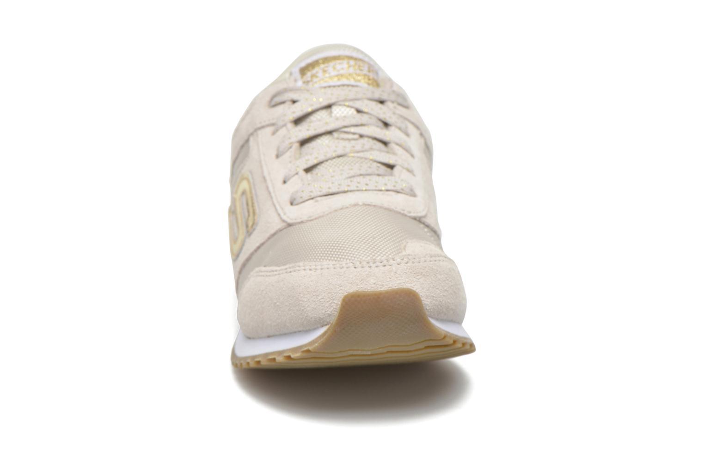 Sneaker Skechers OG 78 - Gold Fever beige schuhe getragen