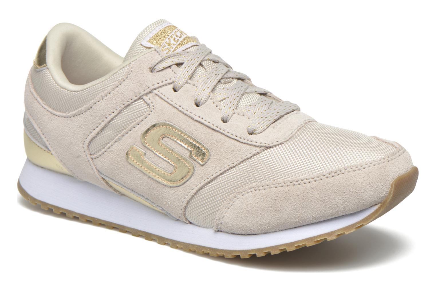 Trainers Skechers OG 78 - Gold Fever Beige detailed view/ Pair view