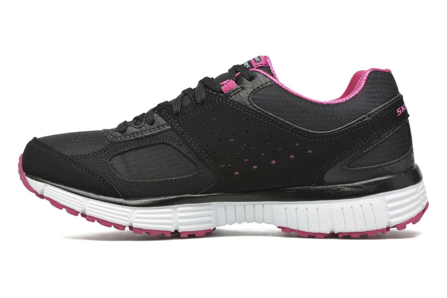 Sport shoes Skechers Agility - Ramp Up Black front view