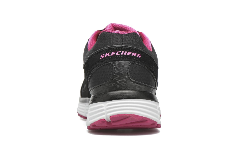 Zapatillas de deporte Skechers Agility - Ramp Up Negro vista lateral derecha