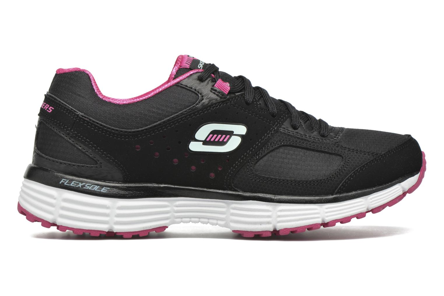 Sport shoes Skechers Agility - Ramp Up Black back view