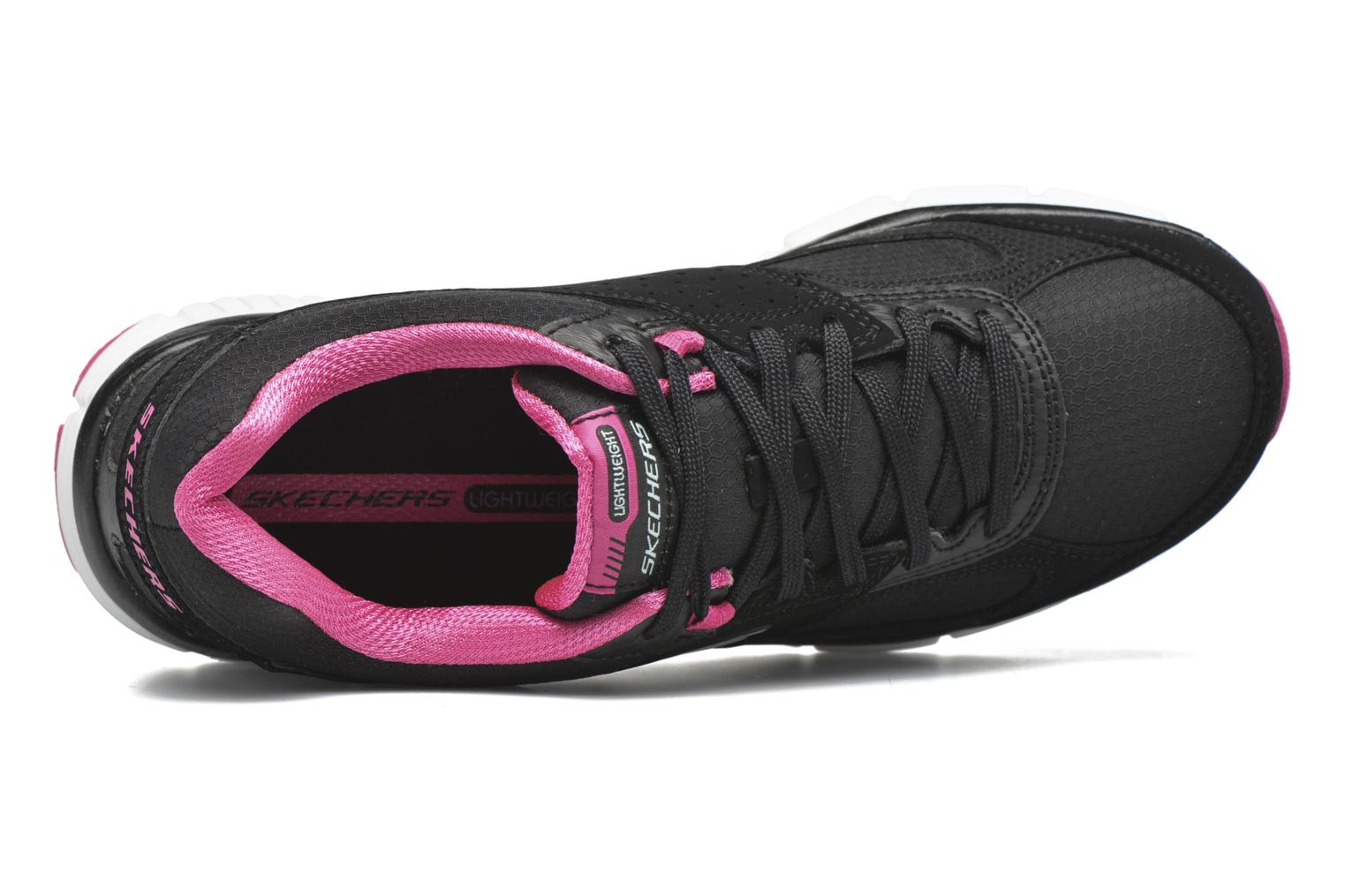 Sport shoes Skechers Agility - Ramp Up Black view from the left