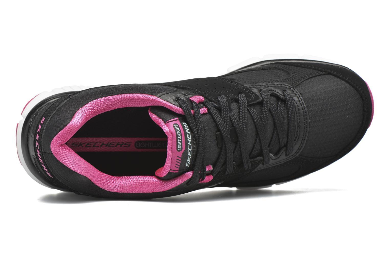 Zapatillas de deporte Skechers Agility - Ramp Up Negro vista lateral izquierda
