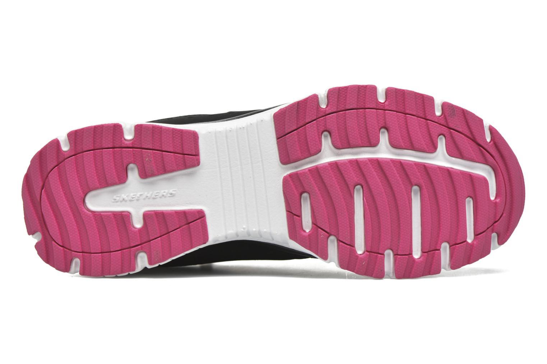 Zapatillas de deporte Skechers Agility - Ramp Up Negro vista de arriba