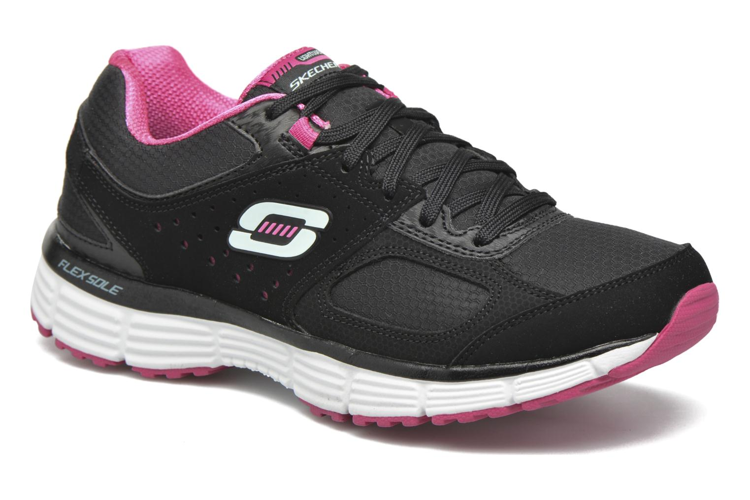 Sport shoes Skechers Agility - Ramp Up Black detailed view/ Pair view