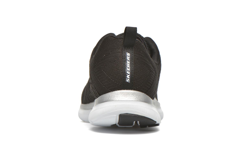 Baskets Skechers Flex Appeal 2.0-Brea Noir vue droite