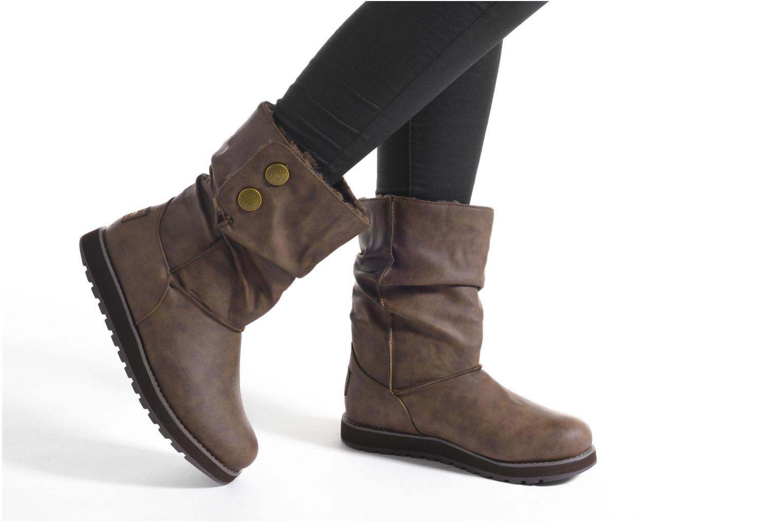 Stivali Skechers Keepsakes - Leathere Nero immagine dal basso