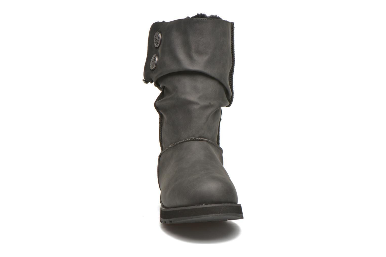 Stivali Skechers Keepsakes - Leathere Nero modello indossato