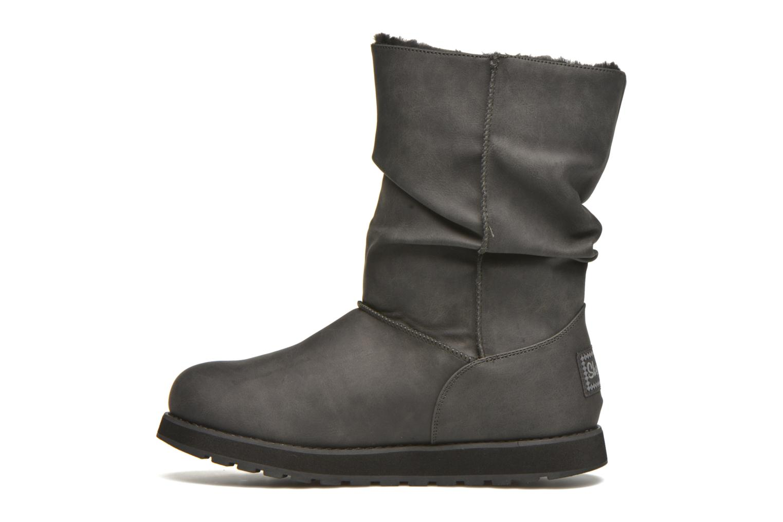 Bottes Skechers Keepsakes - Leathere Noir vue face