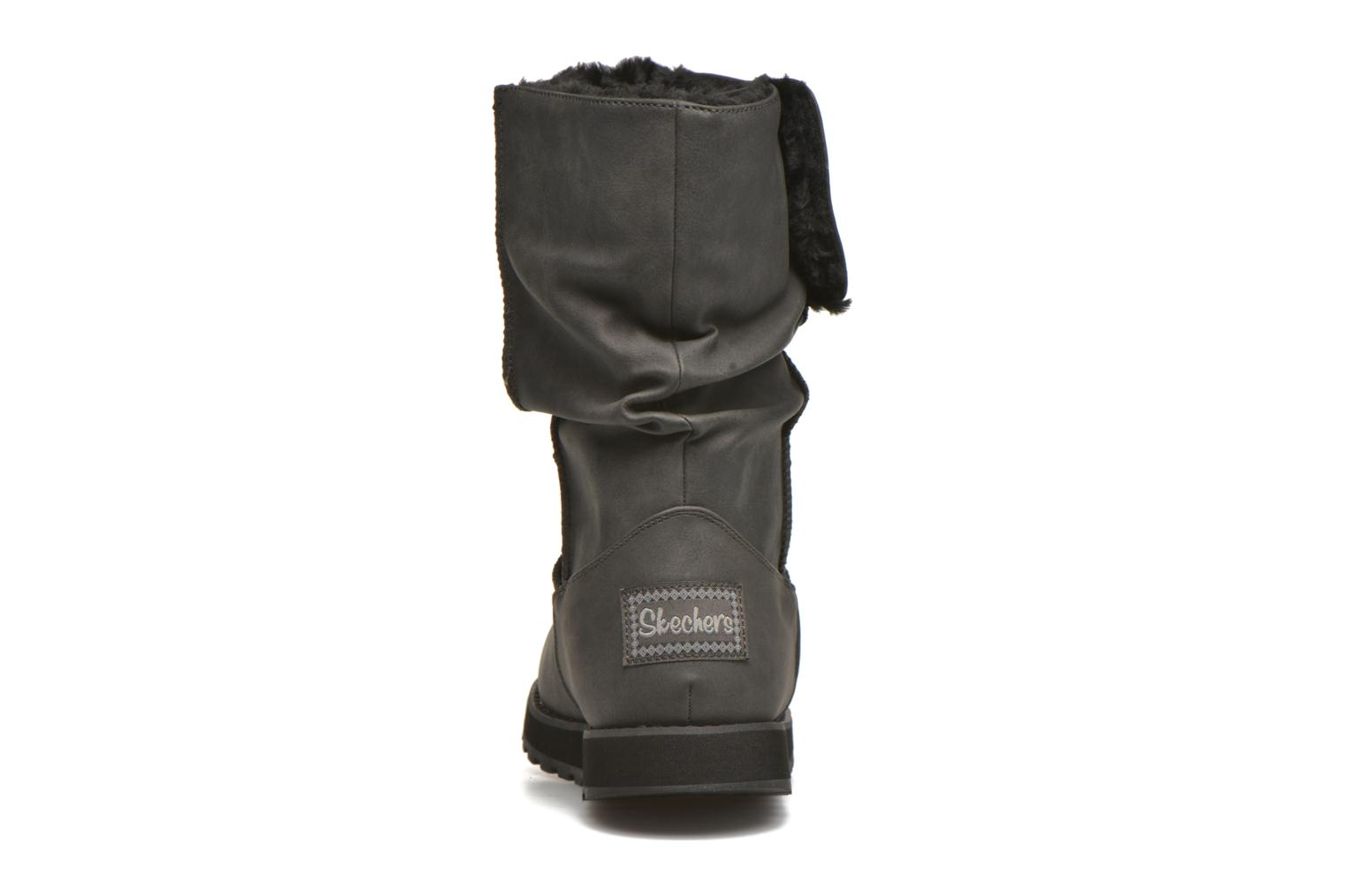 Boots & wellies Skechers Keepsakes - Leathere Black view from the right