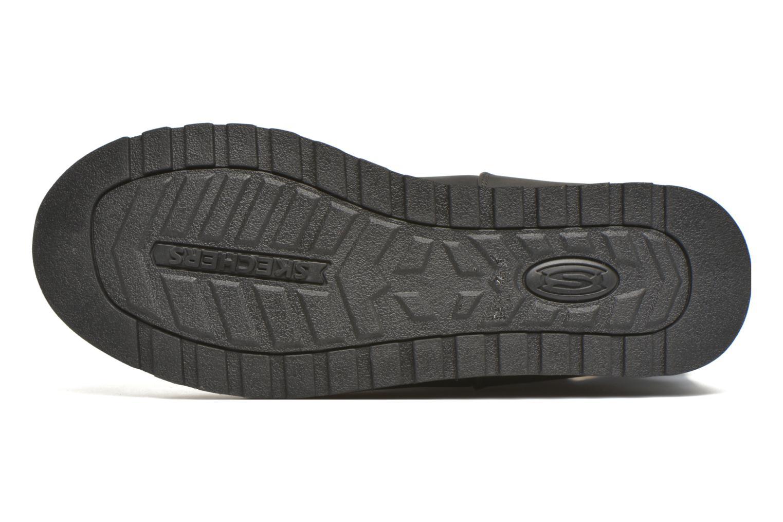 Bottes Skechers Keepsakes - Leathere Noir vue haut