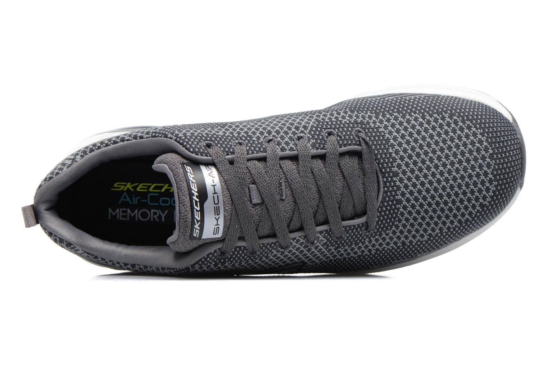 Sneaker Skechers Skech Air- Extreme grau ansicht von links