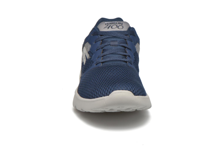Chaussures de sport Skechers Go run 400 Bleu vue portées chaussures