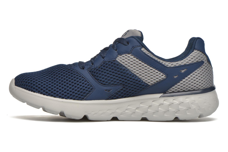 Chaussures de sport Skechers Go run 400 Bleu vue face