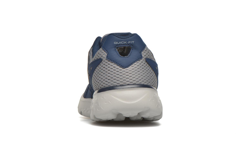 Chaussures de sport Skechers Go run 400 Bleu vue droite