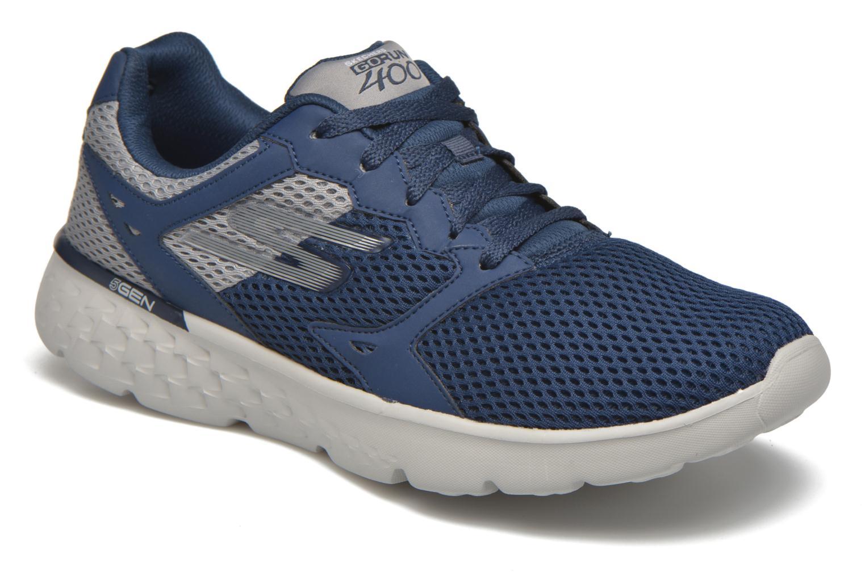 Chaussures de sport Skechers Go run 400 Bleu vue détail/paire
