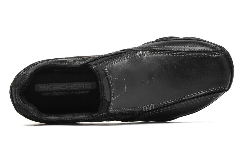 Loafers Skechers Diameter- Zinroy Svart bild från vänster sidan