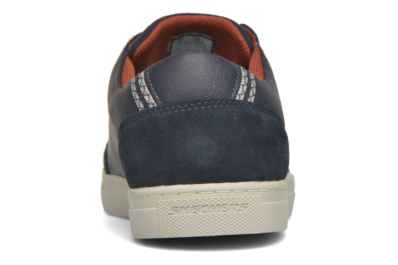 Baskets Skechers Elvino- Lemen Bleu vue droite