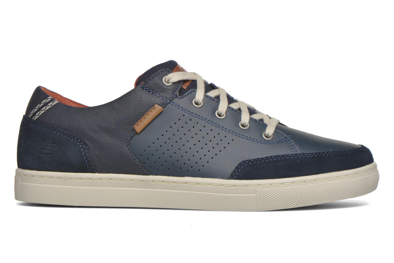 Baskets Skechers Elvino- Lemen Bleu vue derrière